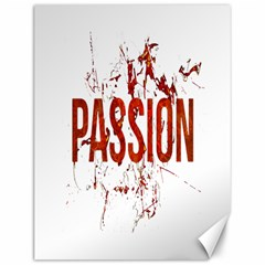 Passion And Lust Grunge Design Canvas 12  X 16  (unframed)