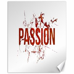 Passion and Lust Grunge Design Canvas 16  x 20  (Unframed)