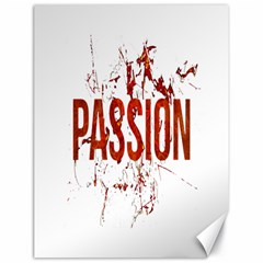 Passion And Lust Grunge Design Canvas 18  X 24  (unframed)