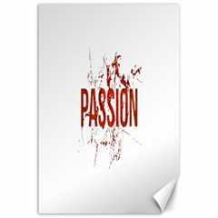 Passion and Lust Grunge Design Canvas 24  x 36  (Unframed)