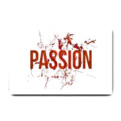 Passion and Lust Grunge Design Small Door Mat