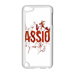 Passion and Lust Grunge Design Apple iPod Touch 5 Case (White)