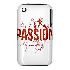 Passion And Lust Grunge Design Apple Iphone 3g/3gs Hardshell Case (pc+silicone)