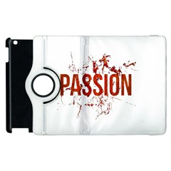 Passion and Lust Grunge Design Apple iPad 3/4 Flip 360 Case