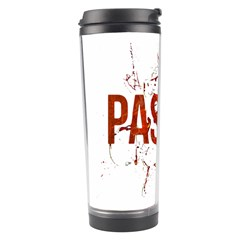 Passion and Lust Grunge Design Travel Tumbler