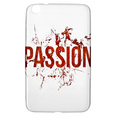 Passion And Lust Grunge Design Samsung Galaxy Tab 3 (8 ) T3100 Hardshell Case