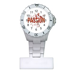 Passion and Lust Grunge Design Nurses Watch