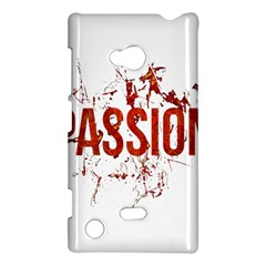 Passion And Lust Grunge Design Nokia Lumia 720 Hardshell Case