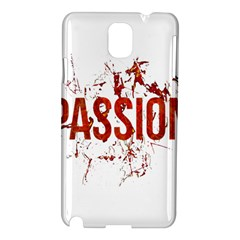 Passion and Lust Grunge Design Samsung Galaxy Note 3 N9005 Hardshell Case