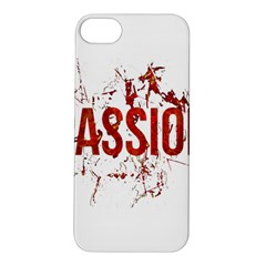 Passion And Lust Grunge Design Apple Iphone 5s Hardshell Case