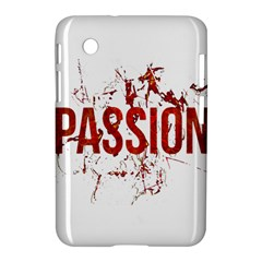 Passion and Lust Grunge Design Samsung Galaxy Tab 2 (7 ) P3100 Hardshell Case