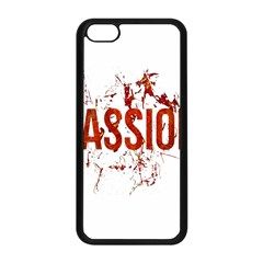 Passion and Lust Grunge Design Apple iPhone 5C Seamless Case (Black)