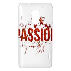 Passion and Lust Grunge Design HTC One Max (T6) Hardshell Case
