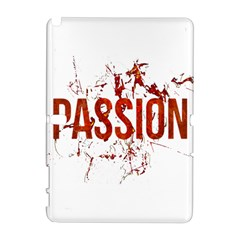 Passion and Lust Grunge Design Samsung Galaxy Note 10.1 (P600) Hardshell Case