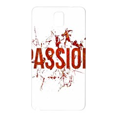 Passion and Lust Grunge Design Samsung Galaxy Note 3 N9005 Hardshell Back Case