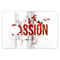 Passion and Lust Grunge Design Kindle Fire HDX 7  Flip 360 Case
