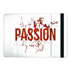 Passion And Lust Grunge Design Samsung Galaxy Tab Pro 10 1  Flip Case