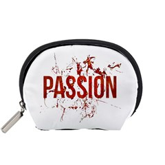 Passion And Lust Grunge Design Accessory Pouch (small)