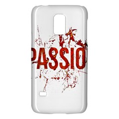 Passion and Lust Grunge Design Samsung Galaxy S5 Mini Hardshell Case
