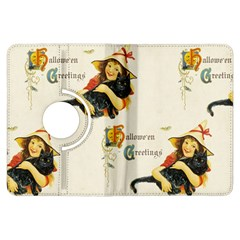 Hallowe en Greetings Kindle Fire HDX 7  Flip 360 Case