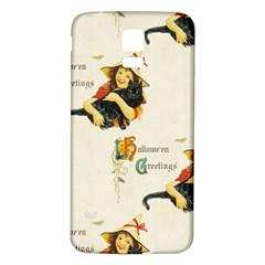 Hallowe en Greetings Samsung Galaxy S5 Back Case (White)