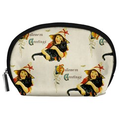 Hallowe en Greetings Accessory Pouch (Large)