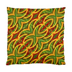 Tropical Colors Abstract Geometric Print Cushion Case (single Sided)