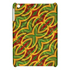 Tropical Colors Abstract Geometric Print Apple Ipad Mini Hardshell Case