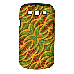 Tropical Colors Abstract Geometric Print Samsung Galaxy S III Classic Hardshell Case (PC+Silicone)