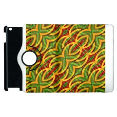 Tropical Colors Abstract Geometric Print Apple iPad 3/4 Flip 360 Case