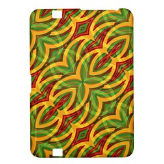 Tropical Colors Abstract Geometric Print Kindle Fire HD 8.9  Hardshell Case
