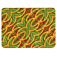 Tropical Colors Abstract Geometric Print Samsung Galaxy Tab 7  P1000 Flip Case