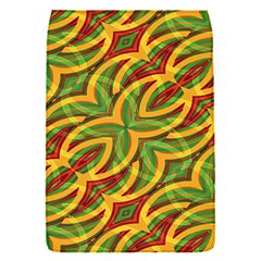 Tropical Colors Abstract Geometric Print Removable Flap Cover (small)
