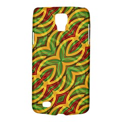Tropical Colors Abstract Geometric Print Samsung Galaxy S4 Active (i9295) Hardshell Case