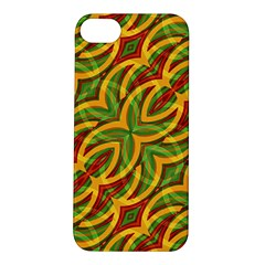 Tropical Colors Abstract Geometric Print Apple Iphone 5s Hardshell Case