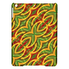 Tropical Colors Abstract Geometric Print Apple iPad Air Hardshell Case