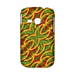 Tropical Colors Abstract Geometric Print Samsung Galaxy S6310 Hardshell Case
