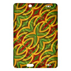 Tropical Colors Abstract Geometric Print Kindle Fire HD 7  (2nd Gen) Hardshell Case