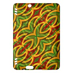 Tropical Colors Abstract Geometric Print Kindle Fire HDX 7  Hardshell Case