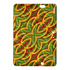 Tropical Colors Abstract Geometric Print Kindle Fire HDX 8.9  Hardshell Case