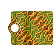 Tropical Colors Abstract Geometric Print Kindle Fire HD 7  (2nd Gen) Flip 360 Case