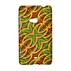 Tropical Colors Abstract Geometric Print Nokia Lumia 625 Hardshell Case