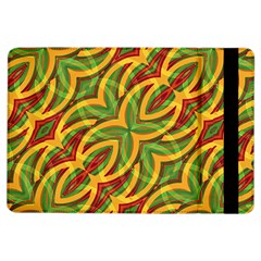 Tropical Colors Abstract Geometric Print Apple iPad Air Flip Case