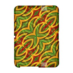 Tropical Colors Abstract Geometric Print Kindle Fire (2nd Gen 2013) Hardshell Case