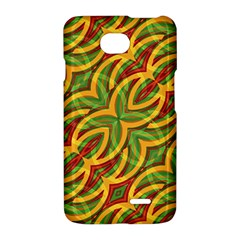 Tropical Colors Abstract Geometric Print LG Optimus L70 Hardshell Case