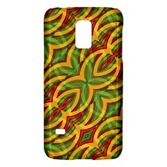 Tropical Colors Abstract Geometric Print Samsung Galaxy S5 Mini Hardshell Case