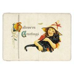 Hallowe en Greetings Samsung Galaxy Tab 8.9  P7300 Flip Case