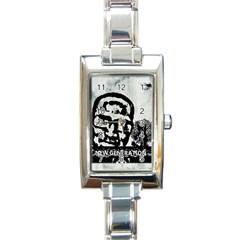 M G Firetested Rectangular Italian Charm Watch