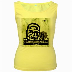 M G Firetested Women s Tank Top (yellow)