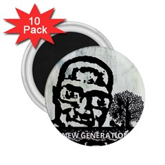 m.g firetested 2.25  Button Magnet (10 pack)